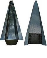 Пластиковая форма 2,15 метра для литья бетонных столбов. Формы из АБС пластика для цементных столбиков.
