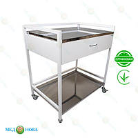 Стол для инструментов (медицинский инструментальный стол) манипуляционный СТ-М-2Н MEDNOVA