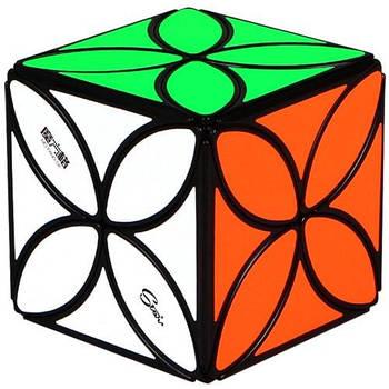 QiYi Головоломка кубик Clover чорний конюшина