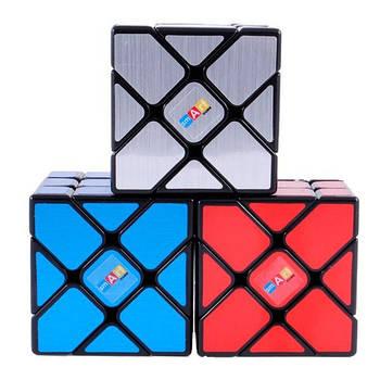 Головоломка Розумний Кубик Фішер 3х3 матові наклейки