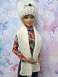 Одежда для кукол Барби - шапка и шарфик*, фото 2