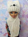 Одежда для кукол Барби - шапка и шарфик*, фото 3