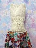 Одежда для кукол Барби - шапка и шарфик*, фото 5
