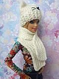 Одежда для кукол Барби - шапка и шарфик*, фото 4