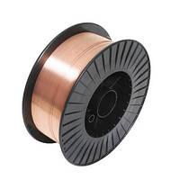 Сварочная проволока омедненная WELDING DRAGON Ø1,0мм / 5 кг