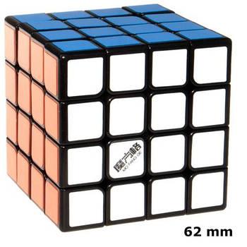 QiYi Thunderclap 6,2 sm 4x4 black Кубик 4х4 чорний 6,2 см