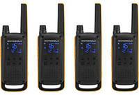 Комплект раций для активного отдыха Motorola T82 EXT QUAD ActiveTeam (Гр9629)