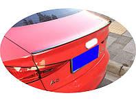 Спойлер багажника ( шабля, лип спойлер ) Audi A3 2013+ р. в.