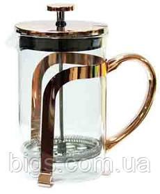 Френч-пресс Медь-стайл 800 мл Заварочный чайник 16548-2