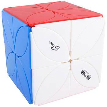 QiYi Головоломка кубик Clover Plus без наклейок