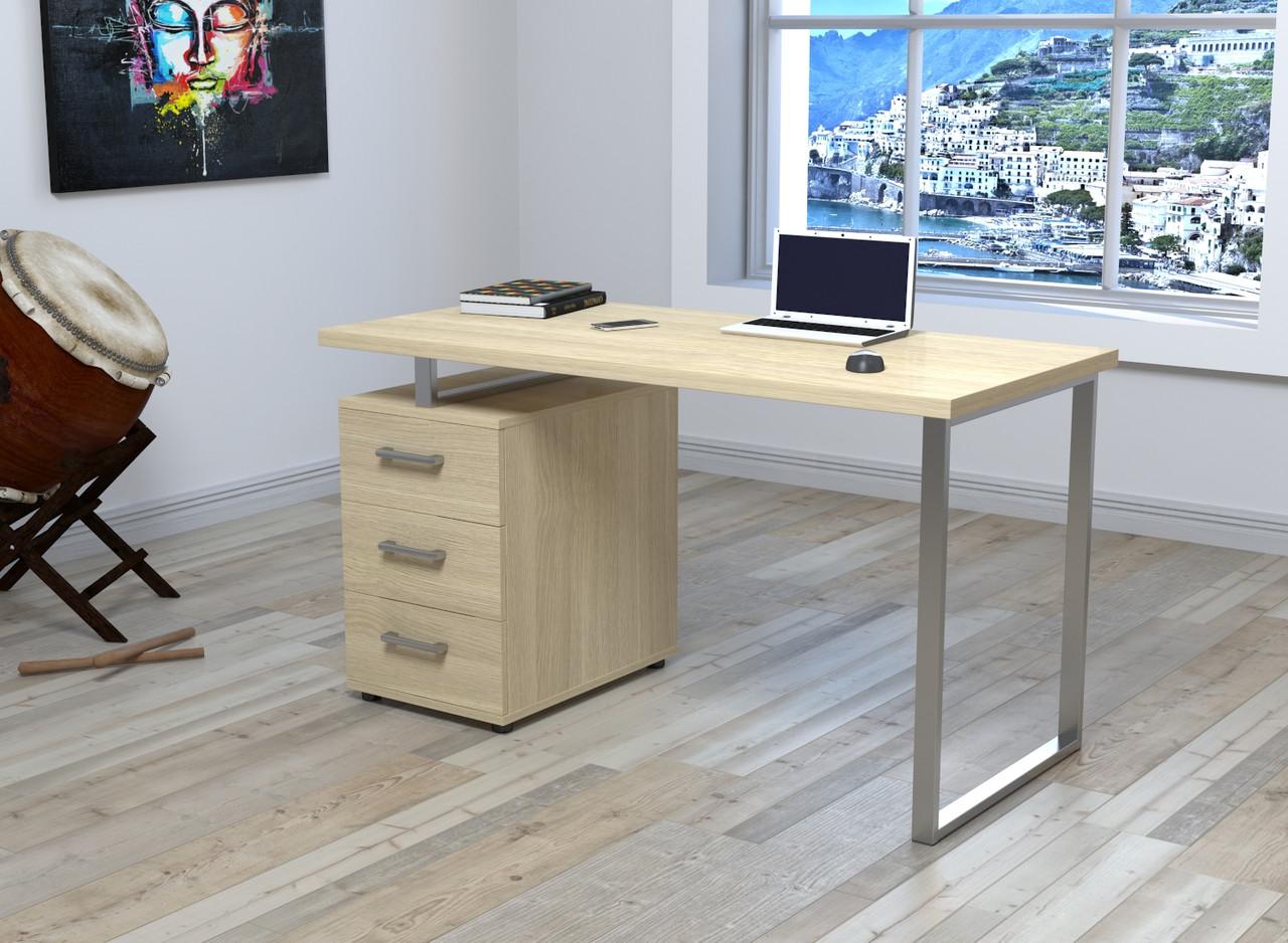 Письмовий стіл Loft Design L-27 MAX Дуб Борас