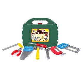 Детский набор инструментов в чемодане Технок (10 дет.)