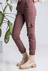 Подростковые брюки карго, джоггеры коттон, для девочек размеры 134, 146, 152, 164