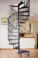 Лестница на второй винтовая