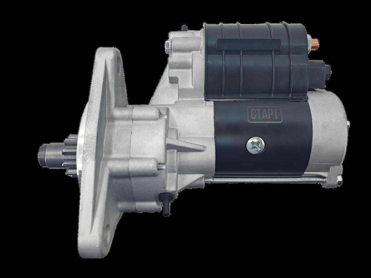 Стартер 12В 2,8 кВт МТЗ, Т40, Т25, Т16 (посилений)