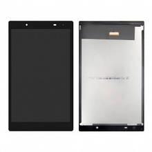 Дисплей Lenovo Tab 4 TB-8504F Wi-Fi, 8504P с сенсором (тачскрином) черный, с желтым шлейфом