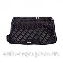 Килимок в багажник Сітроен Ц4, килимок багажника для Citroen C4 II 10 - хетчбек L. Locker
