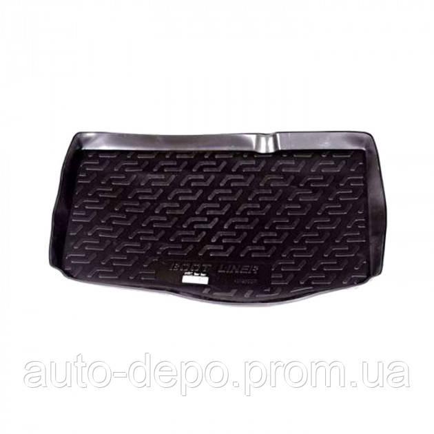 Коврик в багажник Фита Гранде Пунто, коврик багажника для Fiat Grande Punto 05- хэтчбек L.Locker