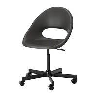 Офисный стул IKEA ELDBERGET MALSKÄR вращающийся Черный (593.318.47)