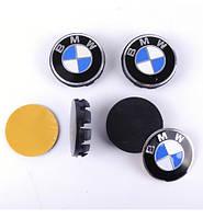 Колпачки заглушки на литые диски BMW 68/65мм, фото 1
