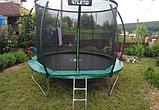 Детский батут Atleto 252 см  с внутренней защитной сеткой садовий для дома, Спортивные батуты, фото 5