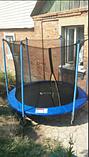 Детский батут Atleto 252 см  с внутренней защитной сеткой садовий для дома, Спортивные батуты, фото 6