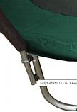 Детский батут Atleto 252 см  с внутренней защитной сеткой садовий для дома, Спортивные батуты, фото 7