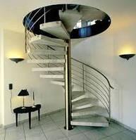 Металлические лестницы на второй