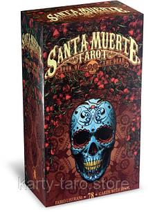 Карты таро Святой Смерти Santa Muerte Tarot - Book of the death