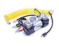 Автомобильный компрессор двухпоршневой Elegant 100 090 (12v/60л/300Вт)