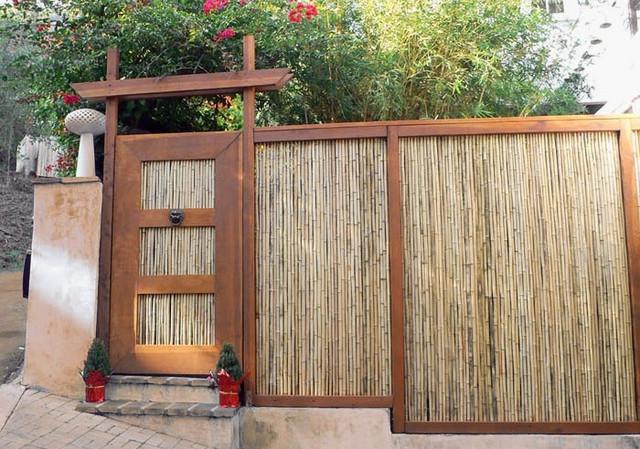 забор из камыша, фото_3