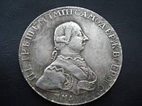 Рубль 1762 года Петр 3 ММД №046 копия