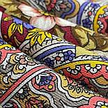 Время песен 1922-6, павлопосадский платок из шерсти с шелковой бахромой, фото 3