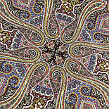 Время песен 1922-6, павлопосадский платок из шерсти с шелковой бахромой, фото 5