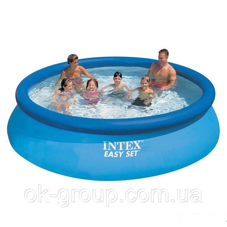 Надувной басейн intex 28132 Easy set 366 х 76 см.