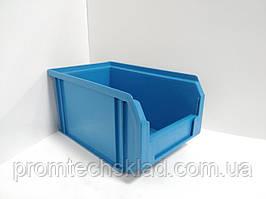 Ящик 701 для метизов голубой премиум 230х145х125мм