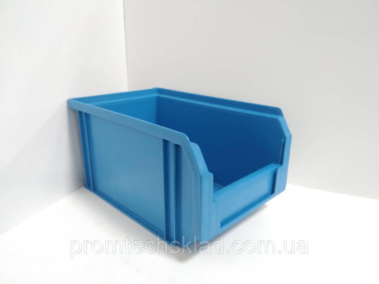 Ящик 701 для зберігання метизів синій 230х145х125 мм
