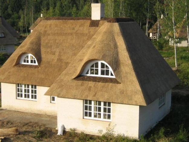 крыша из камышовых материалов, фото_3