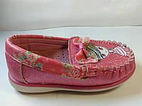 Туфли для девочки Y-TOP, кожаная стелька с ступинатором р. 21