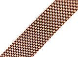 Браслет сетка для часов на магнитной застежке. Миланское Плетение,18 мм. Золото, фото 6
