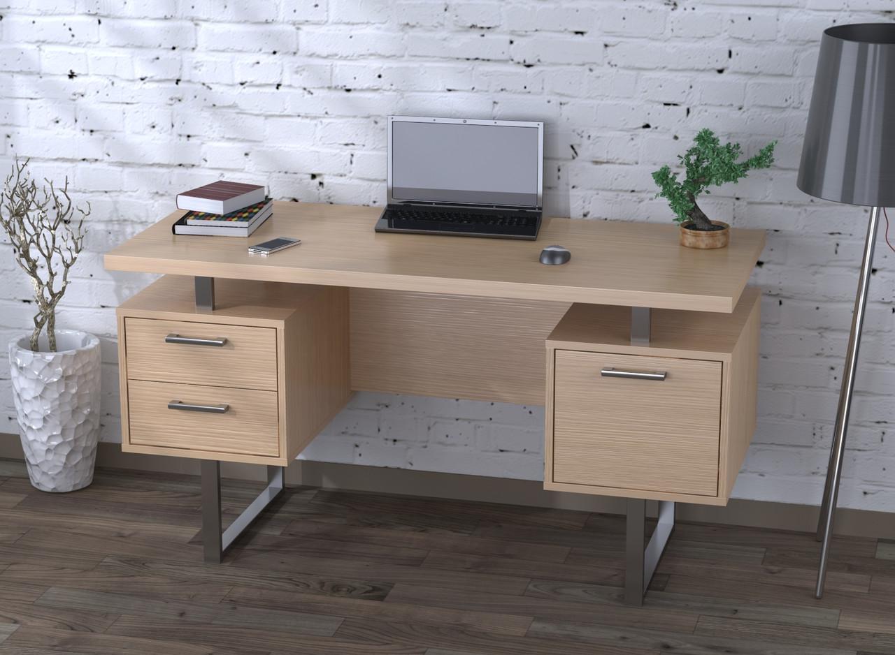 Письмовий стіл L-81 Loft Design NEW Дуб Борас