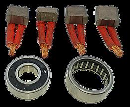 Ремкомплект стартера МТЗ - Чех 4 щетки + 2 подшипника