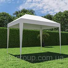 Павільйон садовий білий 1,95*2,95 м. без москітної сітки ( поліетилен)