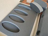 комплект ложементов на заказ с неодимовым магнитом NM25 и защитной наклейкой из алькантары