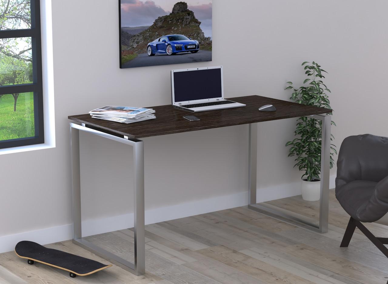 Письмовий стіл без царги Loft Design Q-135 Венге Корсика