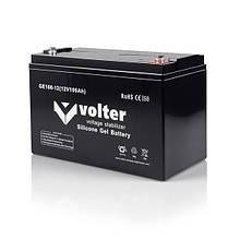 АКБ Volter GE (гелиевая) 12V-H 100Ah (усиленная)