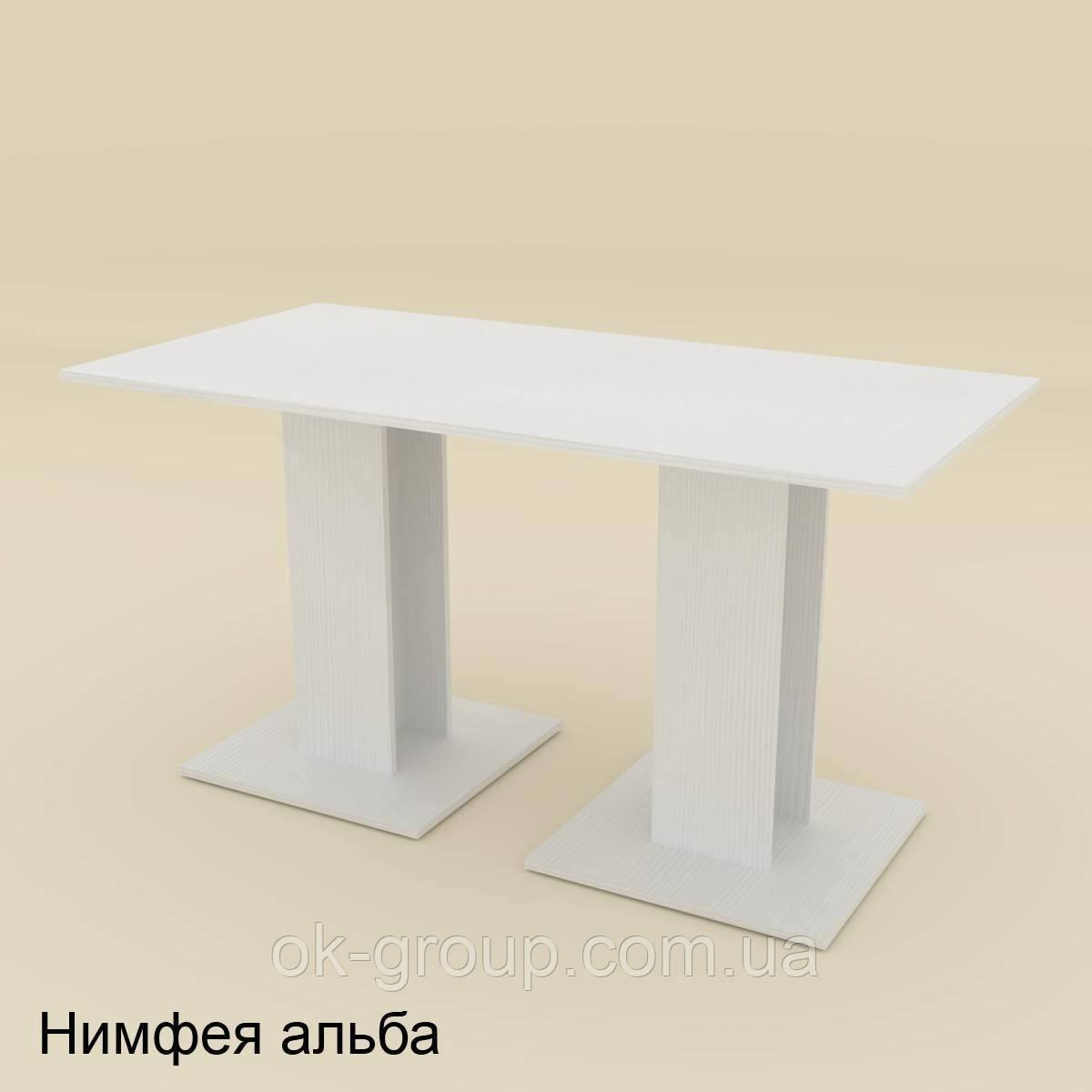 Стол кухонный на двух ножках КС-8 компанит