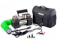 Автомобильный компрессор двухпоршневой Uragan 90170 (12v/85л/360Вт)