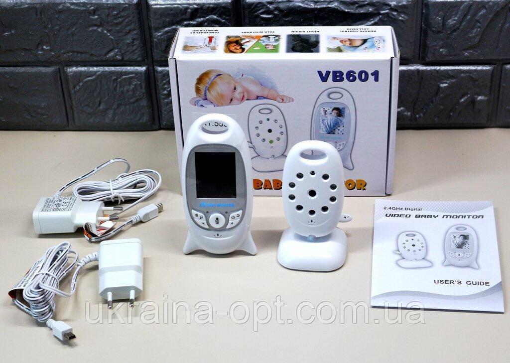 Видеоняня радионяня Baby Monitor VB6014 ночное видение, двухсторонняя связь