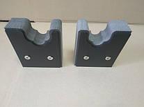 держатель ствола (пена + пластик) с крепление в деревянный шкаф
